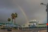 End of the Rainbow (Michael F. Nyiri) Tags: losangeles losangelesharbor sanpedro worldcruiseterminal rainbow cruiseship