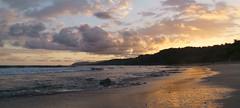 Sunset on Montezuma Beach, Costa Rica (Götz_) Tags: strand himmel meer sonnenuntergang wasser sand landschaft bucht kste costa rica montezuma beach sea sunset ocean nature ozean coast travel reise pacific pazifik wolken clouds colors waves wellen natur