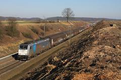 Railpool RTB 186.423 @ Berneau (Peter Van Gestel) Tags: rtb rur tal bahn lijn ligne 24 traxx br 186 berneau