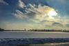 Winter (ruimc77) Tags: winter battle creek mi michigan us usa inverno sky sun sol nuvem nuvens cloud clouds season seasons weather iphone 6 midwest snow neve nieve