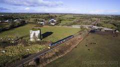 2800 class on 1030 Galway-Ennis at Labane 13-Feb-18 (metrovick) Tags: irishrail iarnrodeireann railroad ie2800class railway railwaygalway labane