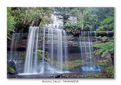 Russell Falls (SawardPhotography) Tags: russell falls tasmania australia waterfall water fall nature