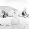Olaf (JPeyrafitte) Tags: neige montagne noirblanc argentique bonhommedeneige