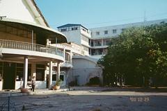 (homesickATLien) Tags: 35mm film kodak art expired mjuiii olympus cambodia asia travel khmer street architecture french colonial
