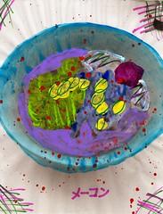 Free Electricity [1,001 Sobas with Senpai #725] (Marc-Anthony Macon) Tags: art dada dadaism dadaist dadaísmo outsiderart folkart rawart popart surrealism intuitiveart soba senpai japanesefood japanese noodles egg eggs