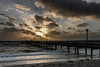 Lightrays over the Bridge (nolte.photo) Tags: sun ray baltic sea bridge beach sunset