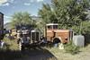 KWs (w.d.worden) Tags: keremeos bone yard kodakfilm kodacolor ektachrome 35mmfilm oldtrucks truckwreckers
