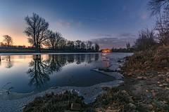 Winterhafen (karstenlützen) Tags: germany brandenburg markbrandenburg frankfurtanderoder oderland reflections riverside landscape longtimeexposure sigma1020f35 ilca77m2