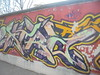 154 (en-ri) Tags: kra rtc giallo rosa verde lilla torino wall muro graffiti writing