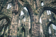 Gothic Symphony. (_Anathemus_) Tags: ruins gothic medieval abbey wales south arch uk nikon d750 tintern