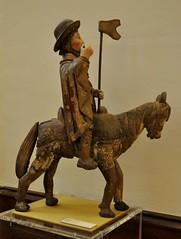 Astorga (León). Museo de los Caminos.Santiago a caballo, siglo XVIII (santi abella) Tags: astorga león castillayleón españa museodeloscaminos palacioepiscopaldeastorga