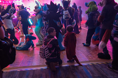 DSC01728 (Kory / Leo Nardo) Tags: furry fursuit suiting dance party dj con convention further confusion fc san jose marriott center 2018 fc2018 pupleo leo kory fur costume costuming cosplay animals