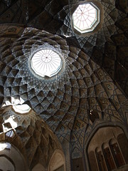 P9234437 (bartlebooth) Tags: iran muslim holy persian iranian olympus e510 evolt kashan isfahanprovince esfahanprovince vaulting architecture dome skylight caravanserai market bazaar