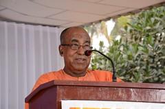 Swami Aksharatmanandaji Maharaj (Belur Math, Howrah) Tags: rajahmundry rajahmahendravaram ramakrishnamission devoteesconvention
