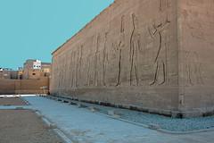 The Temple of Horus at Edfu