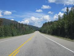Eastbound on Highway 16 in Jasper National Park (in Jimbobmobile) (jimbob_malone) Tags: 2017 highway16 alberta