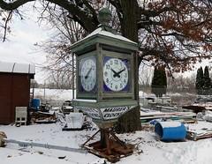 10:10 (Rob Patzke) Tags: clock time junk lx100 antique lumix