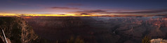 Dusk at the canyon (Justitia Omnibus) Tags: arizona art amazingshot arizonahighways air canon landscape canonphotos canonusa clouds desert red perspective panoramic leaveyourmark foto justgoshoot sky outdoors photography purple pink sunset sun waycoolshots