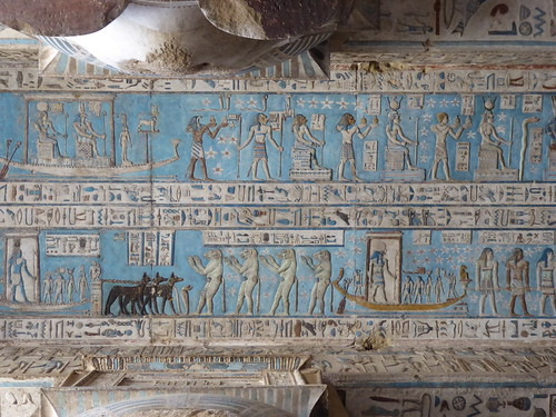 Ceiling, Dendera Temple