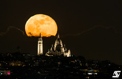 SuperMoon 2018 (A.G. Photographe) Tags: anto antoxiii xiii ag agphotographe paris parisien parisian france french français europe capitale d850 nikon sigma 150600 lune moon montmartre supermoon sacrécoeur superlune