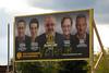 Élections à Lachine (-AX-) Tags: 32eavenue graffiti lachine montréal pancarte élections