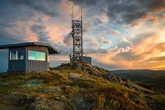 _MG_8882_Mountain Tower_Flickr (Andrewhg photo) Tags: landscape photography sunrise mt mckay falls creek alpine national park australia australian burnt trees mountains mountain sun sunlight pink warm altitude early morning wilderness remote clouds colour colourful dawn light cope pretty vally canon 1740mm victoria view vibrant tranquil serene beauty beautiful wild exposure multiple 1849m 1849 meters emotion thoughts nature alone solitude quiet outdoor sky cloud 5d mark iii