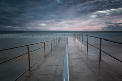 lines..... (tara.bowen) Tags: collaroy beach pool tidalpool rockpool longexposure canon sydney sunrise nsw australia