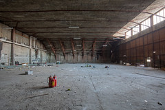 WW2 Hangar (Trond Sollihaug) Tags: stjørdal norway hangar ww2 building decay abandoned military wideangle hdr canon