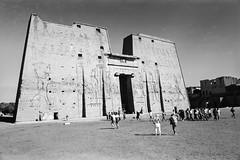 Temple of Horus at Edfu (w.d.worden) Tags: temple edfu horus 35mm egypt film kodacolor