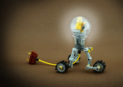 FebRovery 2018 6 (TFDesigns!) Tags: lego space rover electric light bulb edison febrovery frost history satire