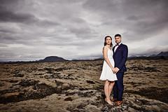 Eiríkur & Guðlaug (LalliSig) Tags: wedding photographer iceland summer june outdoor lava field moss portrait portraiture people