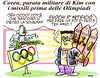 """Kim Jong BUM (Moise-Creativo Galattico) Tags: editoriali moise moiseditoriali """"editorialiafumetti"""" giornalismo attualità satira vignette kimjongun corea olimpiadi"""