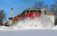 Dashing thru the snow (dylan_dowen) Tags: train locomotive snow