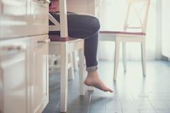 Break time (pierfrancescacasadio) Tags: febbraio2018 sentados 52anonimos break 50mm 652 11022018840a5084 chair kitchen ikea