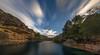 El río que te lleva. (Amparo Hervella) Tags: ríoguadiela buendía guadalajara españa spain río roca cielo nube naturaleza color puntodefuga largaexposición d7000 nikon nikond7000 comunidadespañola panorámica nwn