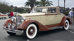 1934 Packard Standard 8 Coupe Roadster (Pat Durkin OC) Tags: 1934packard standard8 coupe roadster wirewheels whitewalltires