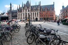 A clean City (Tony Shertila) Tags: bruges brugge architecture brussels building city cityscape europe belgium bicycle bike feet pedestrian vlaanderen bel