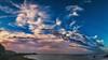Sunrise Beach Walk (Jörg Bergmann) Tags: islascanarias lagomera vallegranrey amanecer beach beachwalk bluesky canarias canaryislands clouds coast españa gf7 gomera lumix m43 mft morning ocean panasonic sea seascape sky spain stitched sunrise travel vacation winter microfourthirds micro43 skyscape nohdr panasonic1232mmf3556