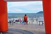 A nice view (Otacílio Rodrigues) Tags: mar pessoas praia água oceano homem man calçadão promenade praiadoforte cabofrio bancos benches céu sky nuvens clouds ilha island brasil oro streetphoto candid supershot