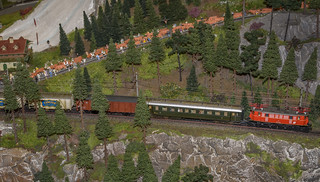 The Train On The Rocks