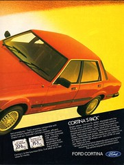 1981 TF Ford Cortina GL S Pack Sedan Page 2 Aussie Original Magazine Advertisement (Aussie Car Adverts) Tags: 1 8 9 19 81 1981 t f tf ford cortina sedan s p pack classic collectible collectors cool english england a automobile v vehicle 80s