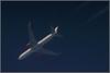 Austrian Airlines OE-LAY 767-300 LIFE BALL special livery (wrblokzijl) Tags: austrianairlines vie vienna plane telescope flugzeug vapourtrail overflight jetcontrail jet inflight highaltitude contrailspotting contrail aviation aviacion apeldoorn altitude airplane airliner aircraftcontrail aircraft 1428mm boeing 767 boeing767300er 767300 32000ft rnav aua89 os89 ewr newark oelay