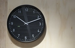 another clock 10:11 (spelio) Tags: ikea shopping sets test a6000 sony stuff things shooting art display clock time