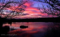 Red Sky at Night Photographer's Delight (daviehamill) Tags: nature beautiful love sunset