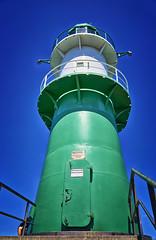 Schiffahrtszeichenanlage (danielrudolf.pics) Tags: mv mecklenburgvorpommern leuchtturm leuchtfeuer warnemünde ostsee ostseeküste