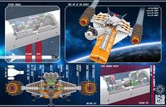 Star Shadow 16 (messerneogeo) Tags: messerneogeo star shadow spaceship lego