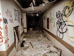 DSCN0062 (tiulekler) Tags: urban urbanexploration urbex exploration abandoned hospitalabandoned hospital street