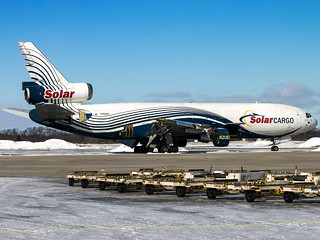 Solar Cargo | McDonnell Douglas DC-10-30(F) | YV524T