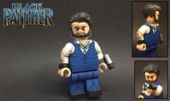 Custom Lego Ulysses Klaue (Black Panther) (Brickophilia) Tags: custom lego minifigure marvel black panther avengers age ultron villain mcu ulysses klaue andy serkis