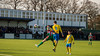 Stockton Town FC (nonleaguepap) Tags: stockton town fc windsor northern league non football green grass pitch artifical yellow blue red white kit shorts shirts fa vase saturday teeside berkshire boots union jack ball lines clouds sky